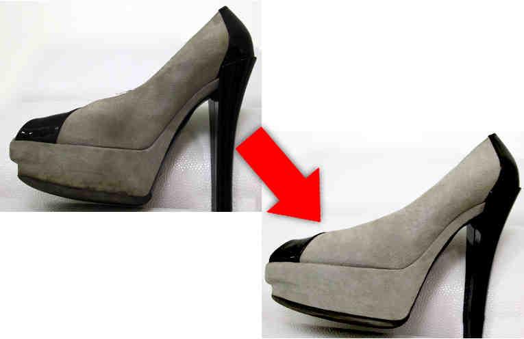 Как быстро почистить вещи и обувь из замши и нубука