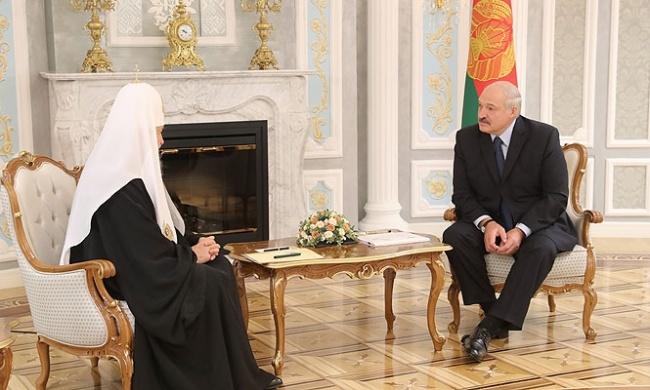 Лукашенко— патриарху Кирилл…