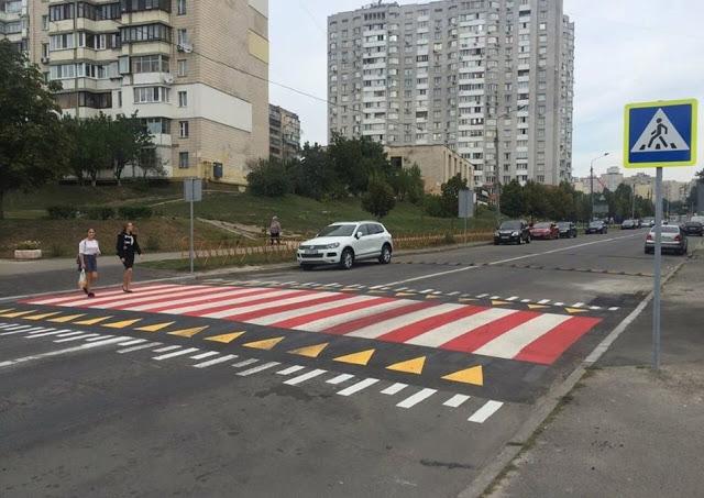 Картинки по запросу новые пешеходные переходы в россии