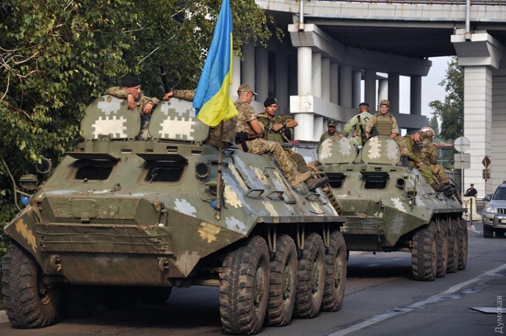 В военно-морских силах Украины формируется вторая бригада морской пехоты