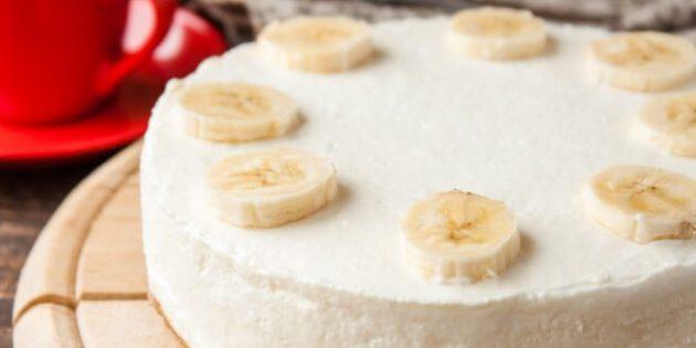 Рецепты чизкейка: Банановый чизкейк