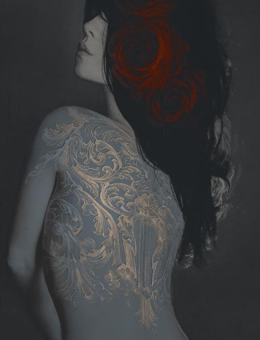 Татуировки на теле. Автор работ: фото-иллюстратор Лесли Энн О'Делл (Leslie Ann O'Dell).