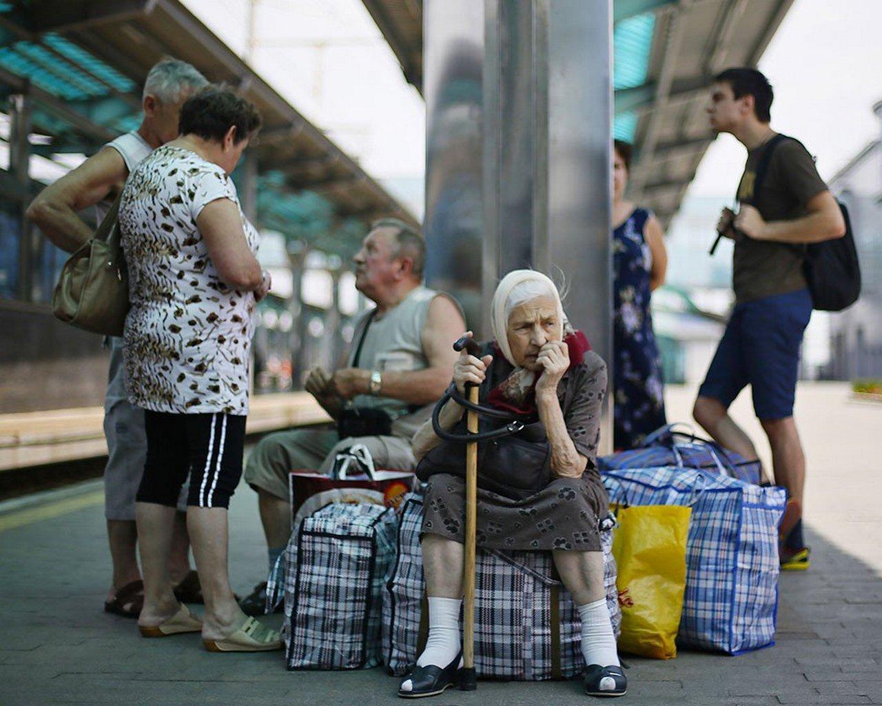 Украина потеряла треть населения
