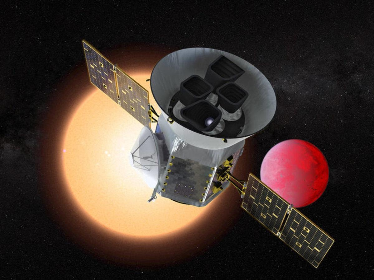 Телескоп TESS открыл свою третью планету