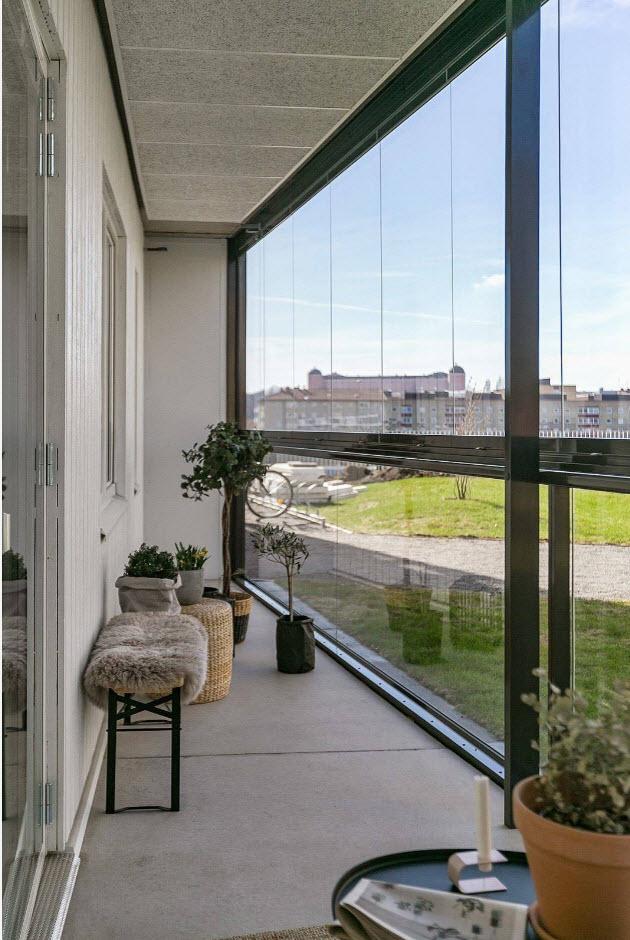 С панорамными окнами