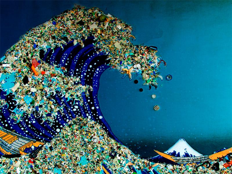 Тихий океан преподносит сюрпризы: мусорный остров
