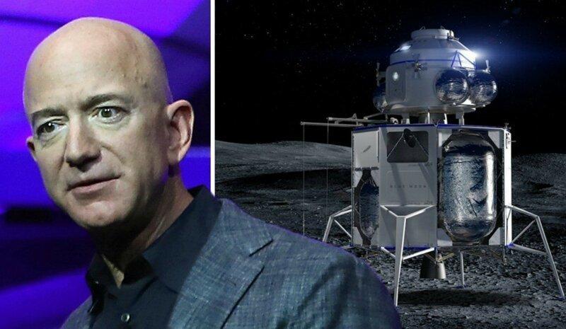Миллиардер Джефф Безос хочет колонизировать орбиту Земли Джефф Безос, колонизация, колонизация Луны, космос, луна, новости, орбита Земли, сша