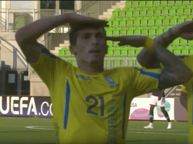Украинского футболиста раскр…