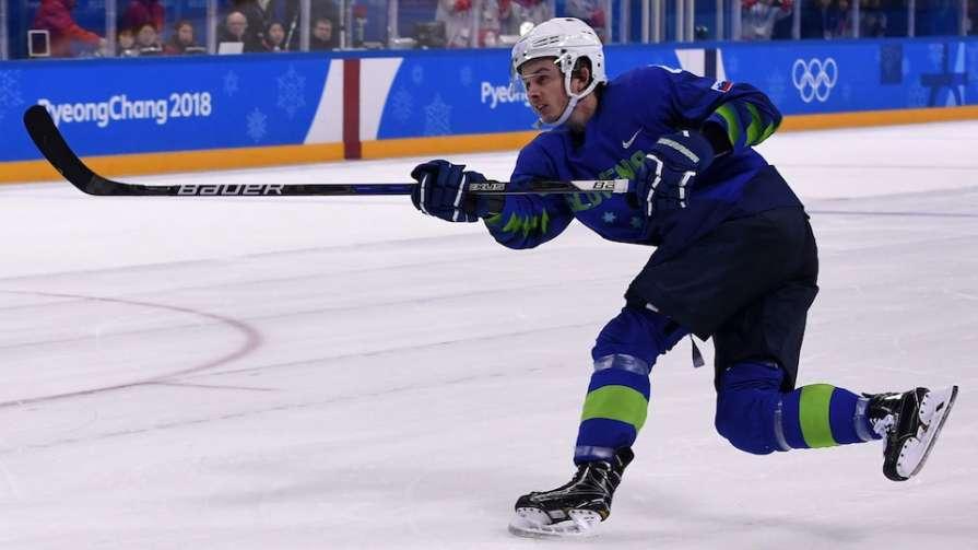 Хоккеист сборной Словении пр…