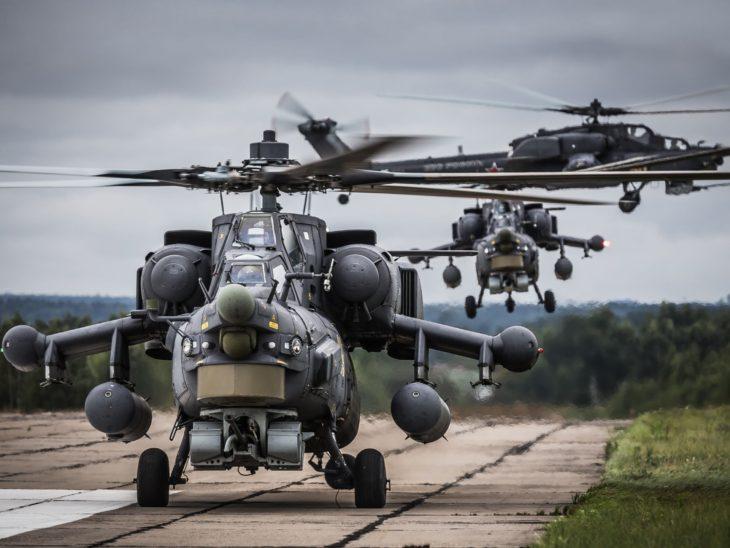 «Ночной охотник» «Хризантемой» убивает танки: американские эксперты оценили Ми-28НМ