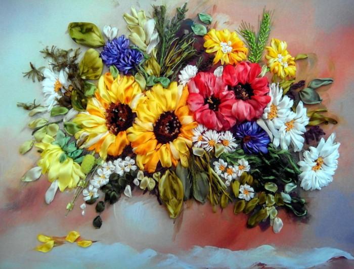 натюрморты цветы-09