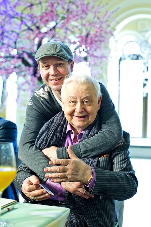 Евгений Миронов с наставником Олегом Табаковым актеры, история, кинематограф