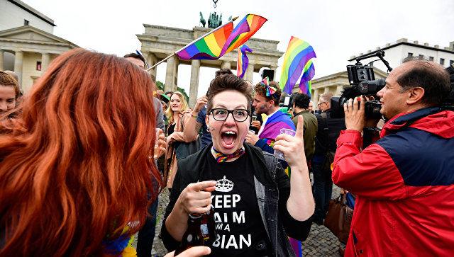 Радужный занавес: Германия отгораживается от России гей-кордоном