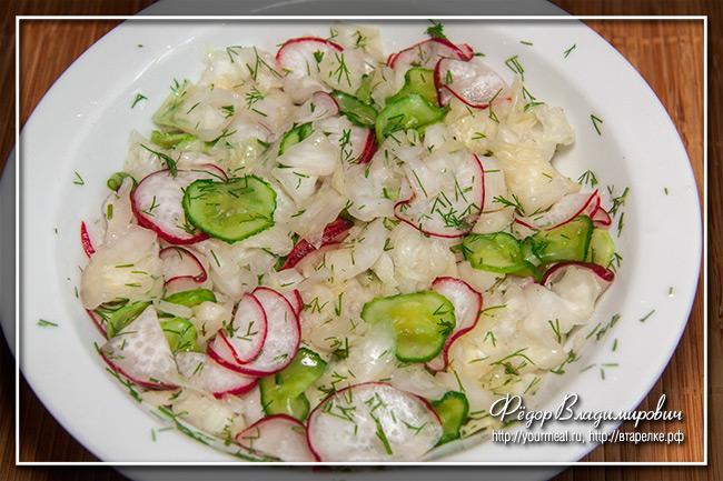 Рецепт маринада для салатов