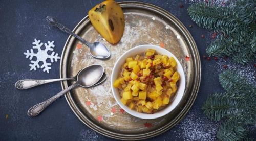 Соус, салат и начинка в одном рецепте.