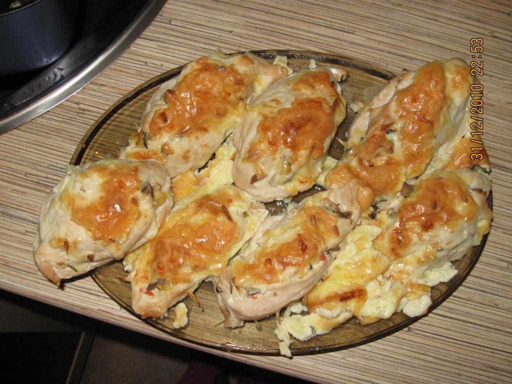 Фаршированные грудки курицы рецепты с фото