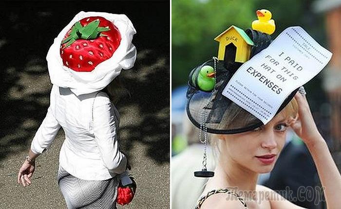Шляпка, которая пропагандирует здоровый образ жизни, а также может использоваться, как пепельница в местах, где таковой нет.
