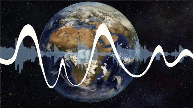 звук земли