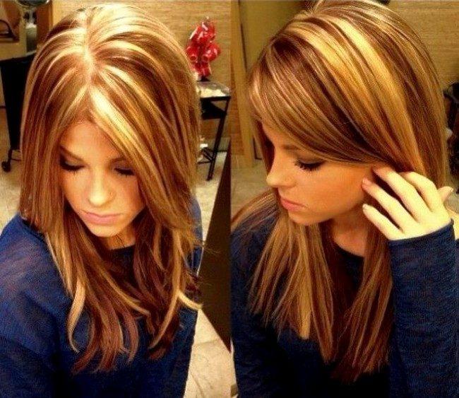 Картинки окрашивания волос в два цвета