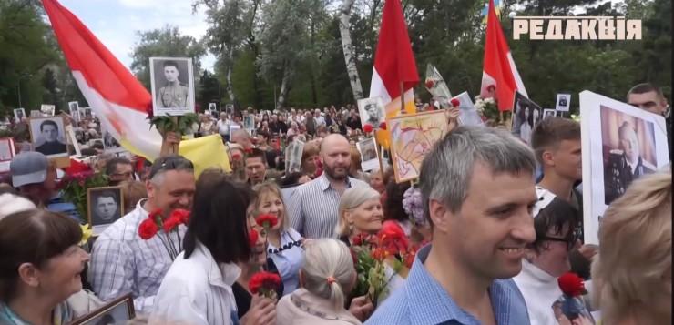 В Одессе провели «флешмоб» в поддержку России: Слава президенту Путину!