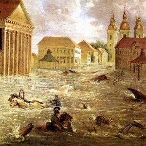 Всемирный потоп был совсем недавно