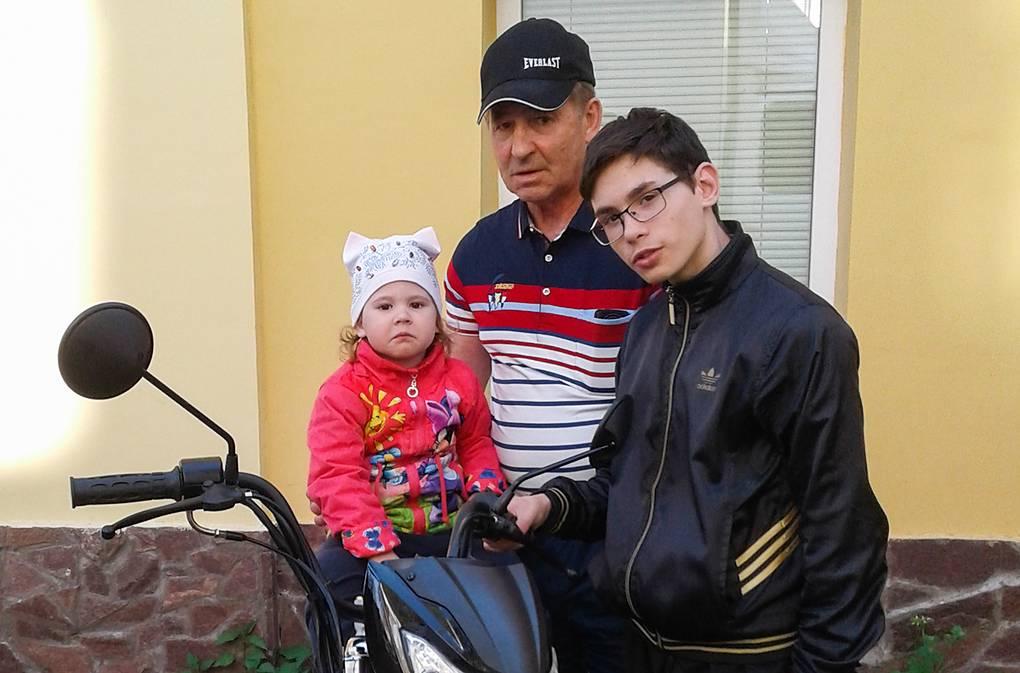 Юрий, дочь Карина и сын Дмитрий Личный архив Оксаны