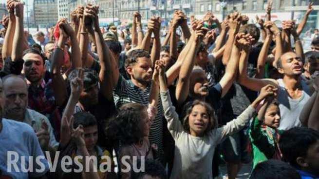 «Мы здесь власть»: мигранты …