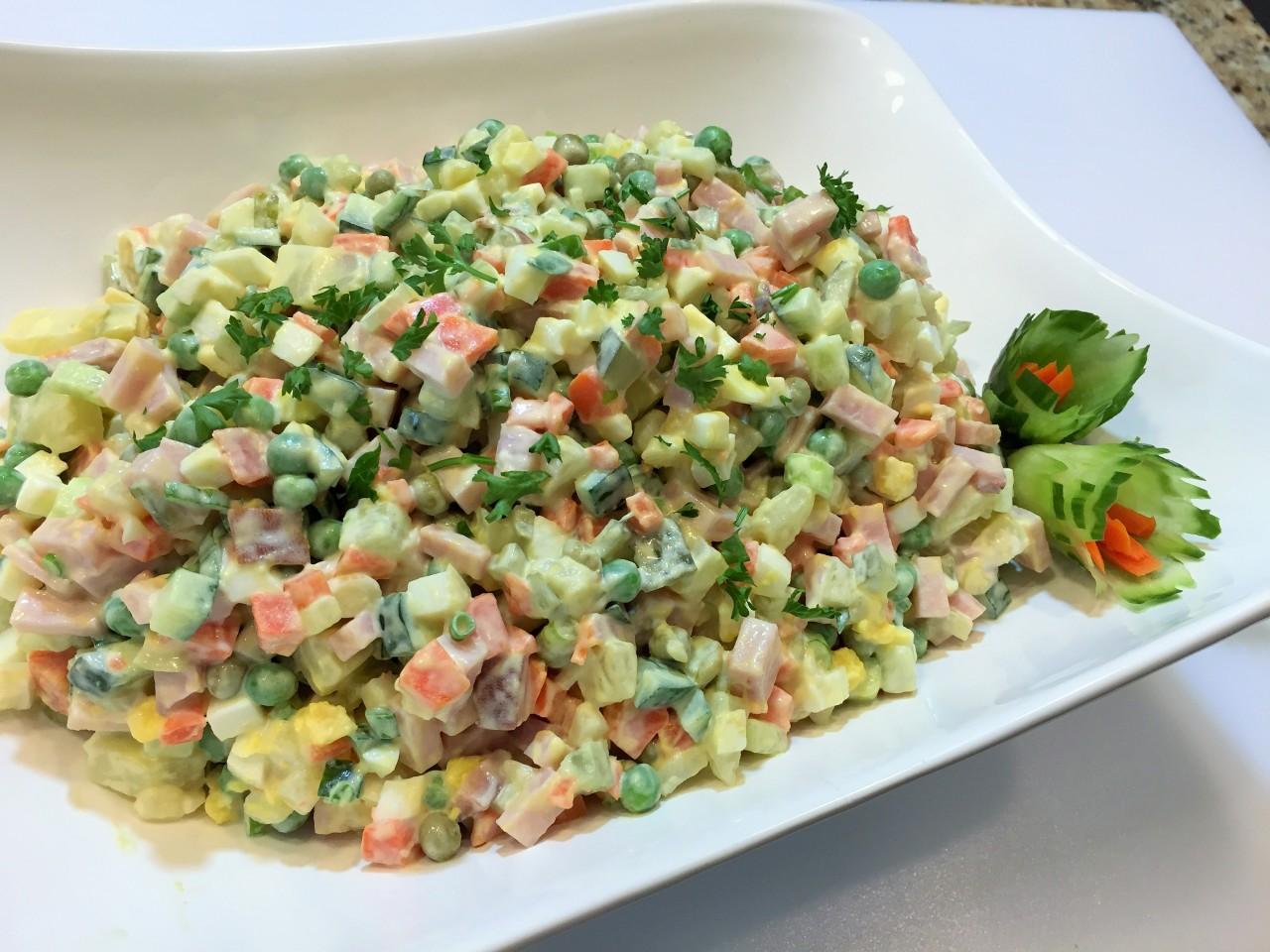 Правильный рецепт салата «Оливье»!