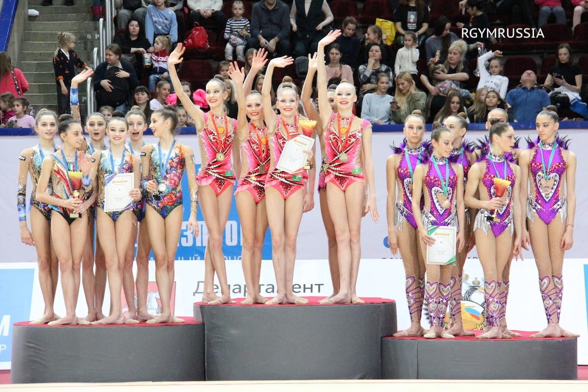 Омские гимнастки завоевали 5 золотых медалей международного турнира