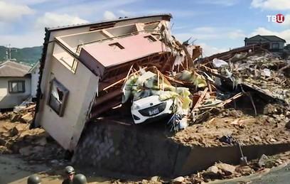 Путин выразил соболезнования в связи с жертвами наводнения в Японии