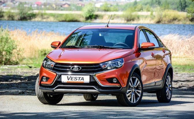 Lada Vesta Cross. Много имиджа и чуть-чуть проходимости