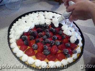 Летний пирог , Шаг 07