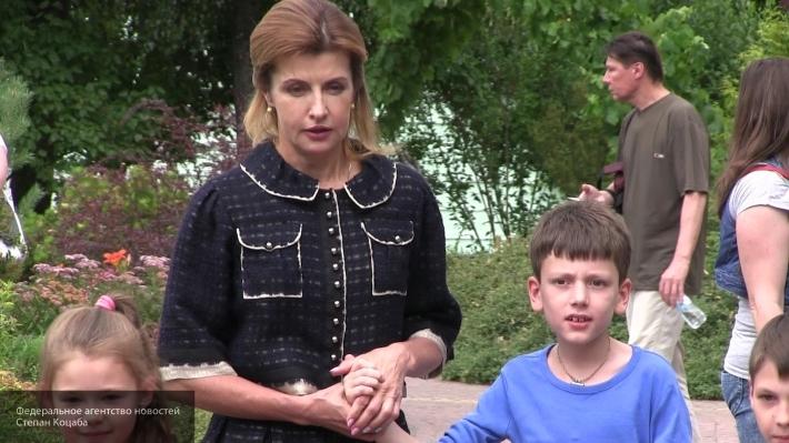 Марина Порошенко приняла уча…