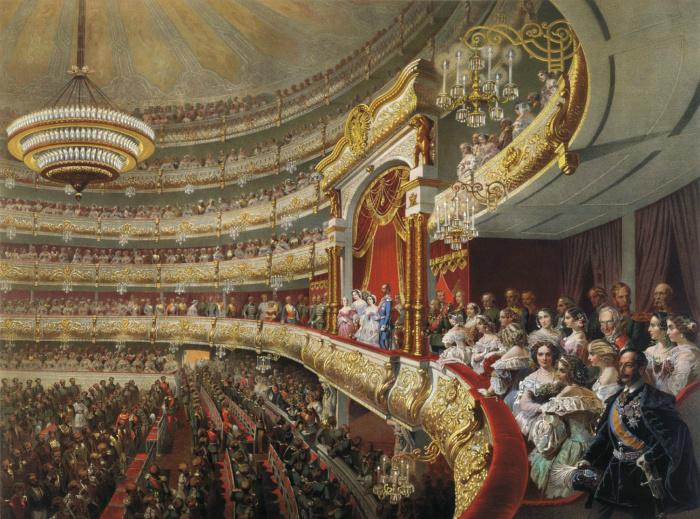 Правила посещения театра в XIX веке