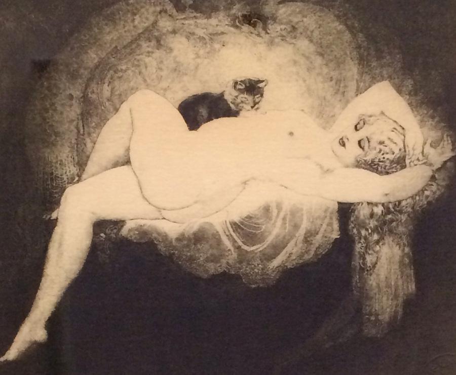 Прелестные нимфы, козлоногие обольстители и демоны в картинах Нормана Линдсея 44