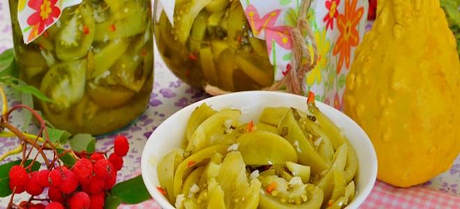 салат изумрудный из зеленых помидор на зиму