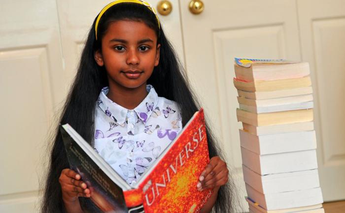 Вопросы, на которые ответила победительница детского телешоу телешоу «Дети-гении»