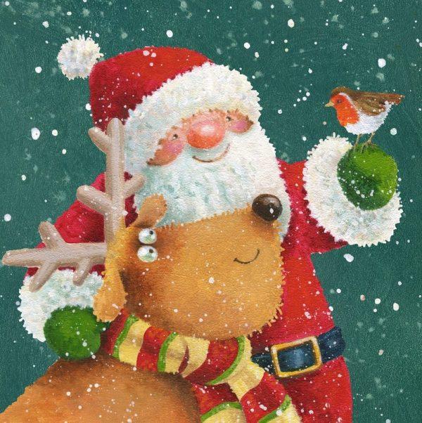 Новогоднее настроение в замечательных иллюстрациях  Иэна Пэшли