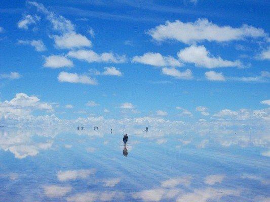 Где небо сливается с землей