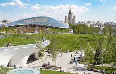 """Завершено строительство концертного зала в парке """"Зарядье"""""""