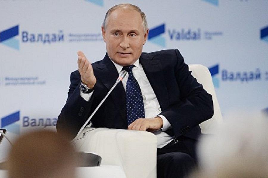 Путин - между Россией и Японией нет территориальных споров
