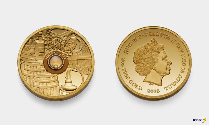 Монеточка, а в ней самый старый виски в мире