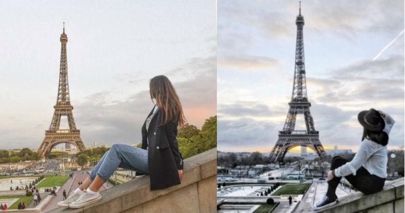Фотограф в двухминутном видео показал, что все путешественники выкладывают в инстаграм одно и то же