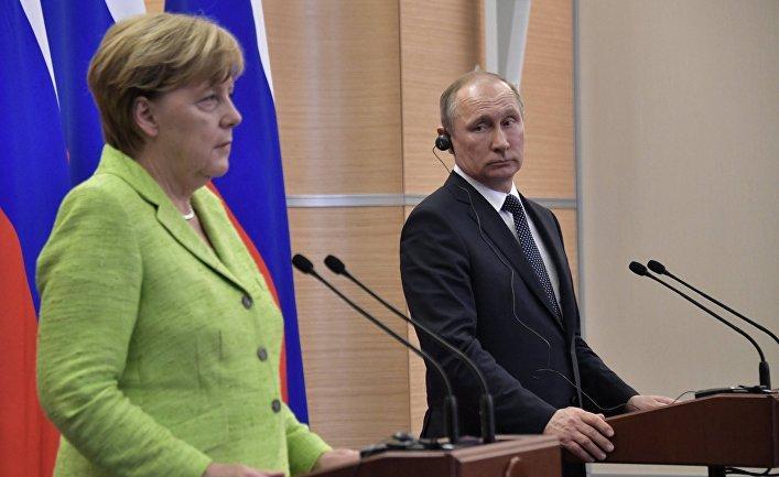 Берлин объяснил причину, по которой до сих пор не снял санкции с России
