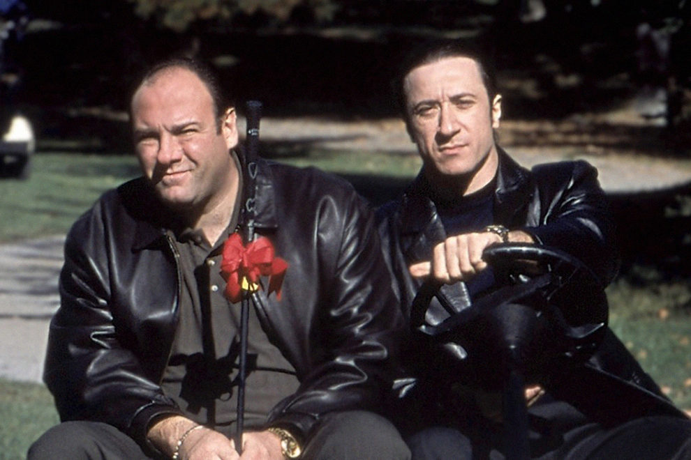 Кадр из сериала «Клан Сопрано», 1999–2007