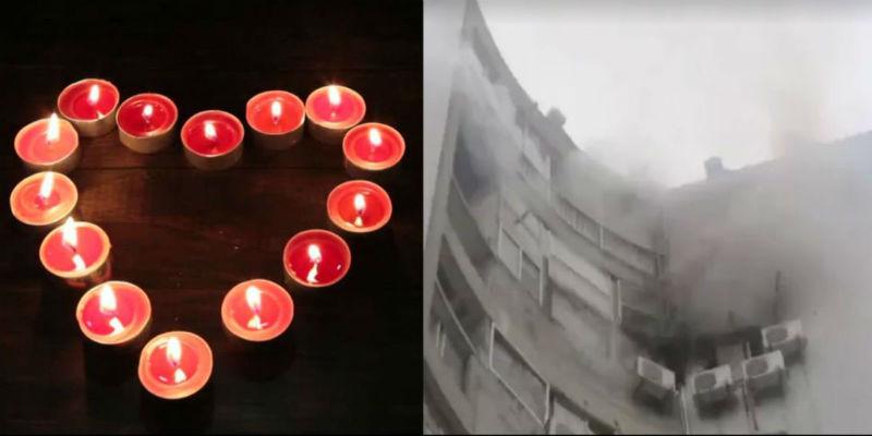Надеемся, она сказала «да»: китаец сжег отель, пытаясь сделать предложение при свечах