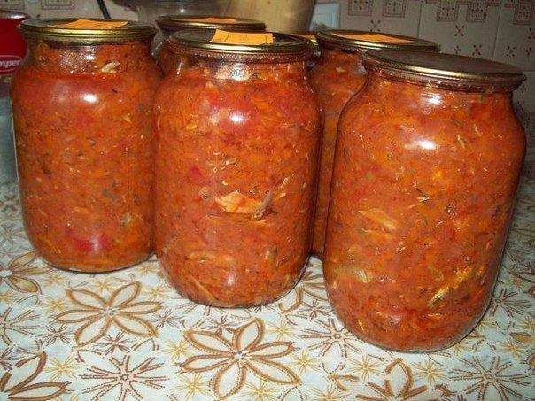 Что может быть вкуснее, чем килька в томате, приготовленная собственноручно!