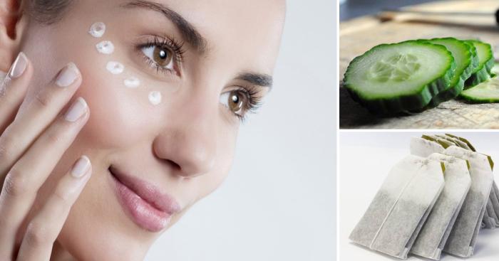 Как в домашних условиях ухаживать за чувствительной кожей под глазами