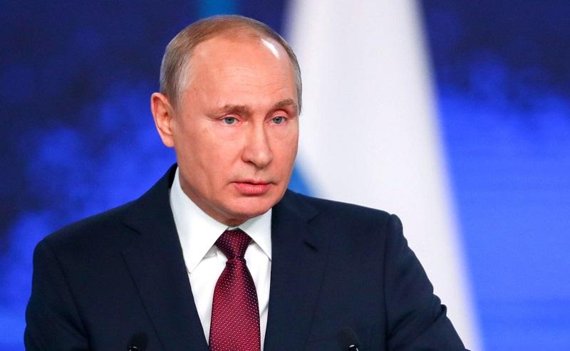 Путин обратился к нации с со…