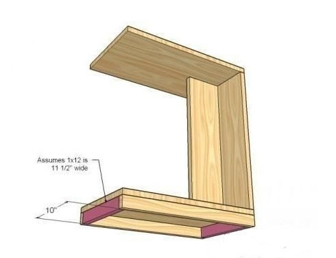 Столик для ноутбука сделай своими руками